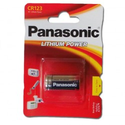 Panasonic Lithium Batterie CR 123 A
