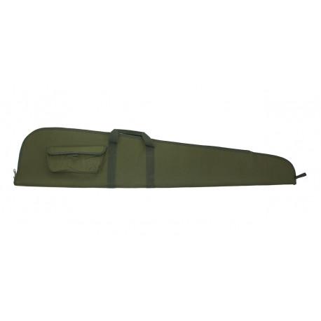 Gewehrfuteral mit Tasche 128cm grün