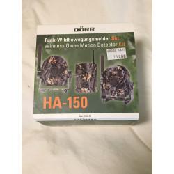 Funk-Wildbewegungsmelder Set HA-150 camo