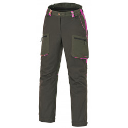 Pinewood Jagdhose Wolf 8355 Ladies Moosgrün/Hot Pink